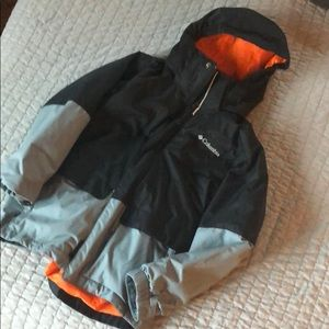 Boys Columbia winter jacket sz sz